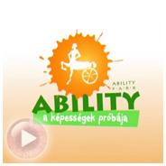 Ability - a képességek próbája